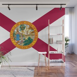 Flag of Florida Wall Mural