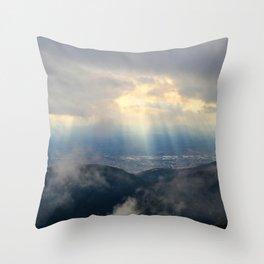 Heaven Descending Throw Pillow