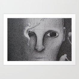 Black and White 5 Art Print