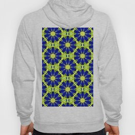 Blue Green vector abstract floral background Hoody