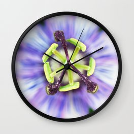 Peace Flower Wall Clock