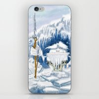 yeti iPhone & iPod Skins featuring Yeti by Juan Pablo Cornejo
