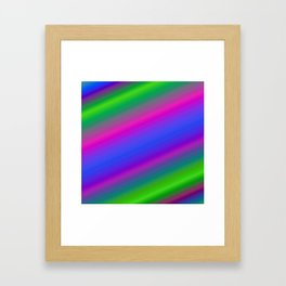 Colorful abstract background Framed Art Print