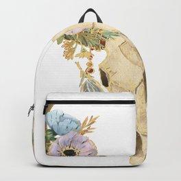 Skull Boho Style Backpack