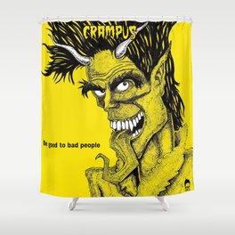The Crampus Shower Curtain
