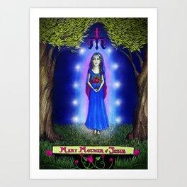 Mary Mother of Jesus Art Print