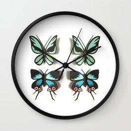 Flutterbies Wall Clock