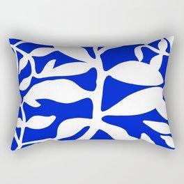 blue stem Rectangular Pillow