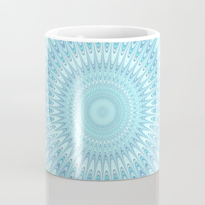 Ice Star Mandala Coffee Mug