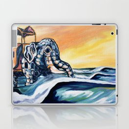 Lucy The Surfing Elephant Laptop & iPad Skin
