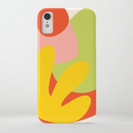 Rainbow LA Cutout iPhone Case