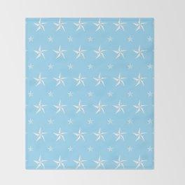 Stella Polaris Light Blue Design Throw Blanket