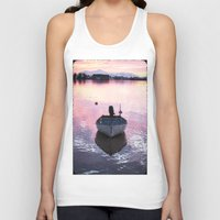 boat Tank Tops featuring Boat by Dora Birgis