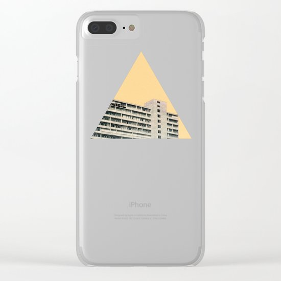 Hot in the City Clear iPhone Case