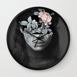 Mystical nature's portrait I Wall Clock