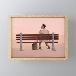 Forrest Gump Framed Mini Art Print
