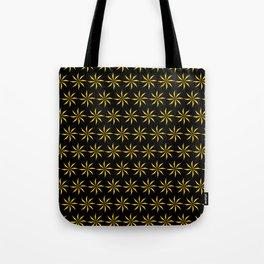 Geometic Patter - Golden Star II Tote Bag