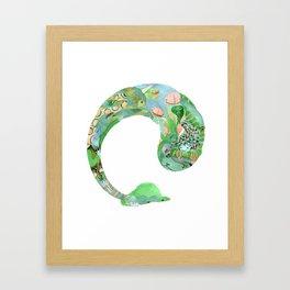 Alpaca Dream #2 Framed Art Print