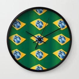 soccer - football ball Wall Clock