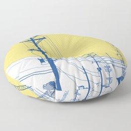 Urban Landscape no.2 Floor Pillow