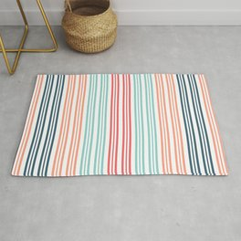 Coral Beach Stripe 2 Rug