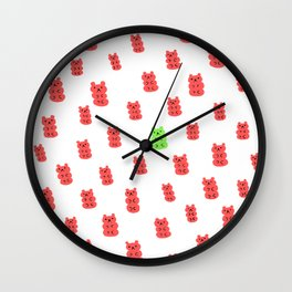 Gummy Bears Strawberry Flavor Wall Clock