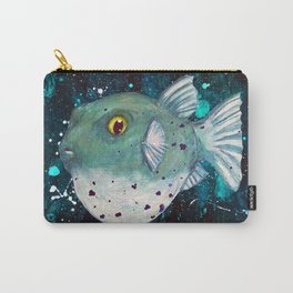 Friendly Green Fugu Redux Carry-All Pouch