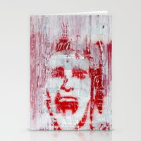 american psycho Stationery Cards featuring AMERICAN PSYCHO by John McGlynn