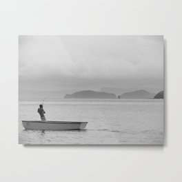 The Fish that Towed the Boat Metal Print