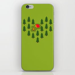 Camping Love iPhone Skin