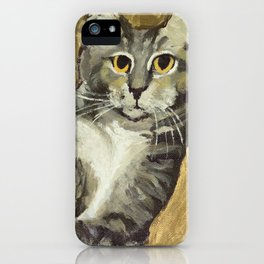 Risque Tabby iPhone Case
