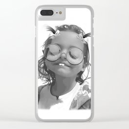 Char-Boogie Bliss Clear iPhone Case