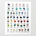Crystal meanings and stone colours by darkkittyrose