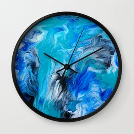 A river ran through it Wall Clock