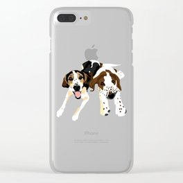 Fred and Sophie Clear iPhone Case
