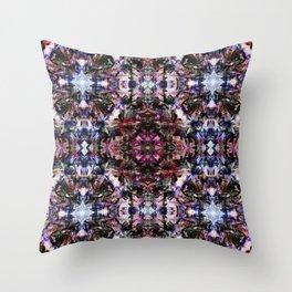 Blue Bossa Throw Pillow