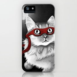 Mr. Meowgi iPhone Case
