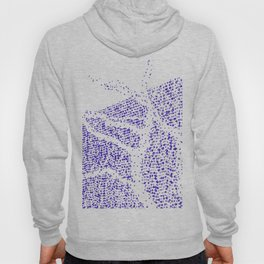 Shape of trees with garland lights. Hoody