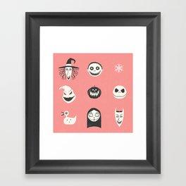 This is Halloween Framed Art Print