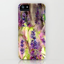 In May When Lilacs Bloom iPhone Case