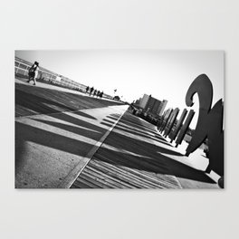 Wildwood Sign 2 Canvas Print