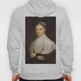 Lucretia Coffin Mott Oil Painting Portrait Hoody