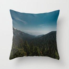 Sequoia National Park XI Throw Pillow