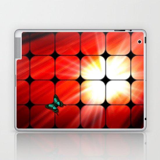 Windows as the sun. Laptop & iPad Skin