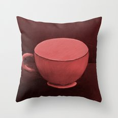 RED MUG Throw Pillow