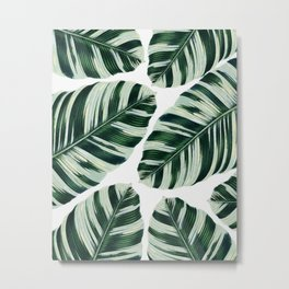 Tropical Foliage #society6 #buyart #decor Metal Print
