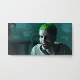 Joker Leto Metal Print