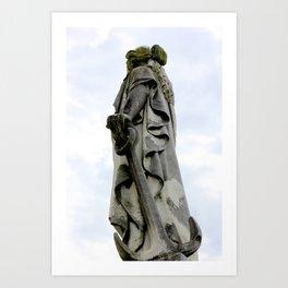 Statue of Hope Art Print