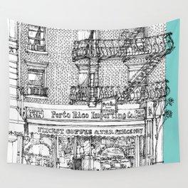 PORTO RICO IMPORT CO, NYC Wall Tapestry