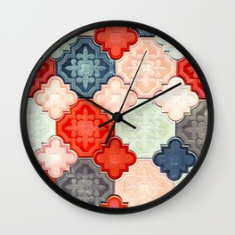 Azulejos/Islamofilia Wall Clock